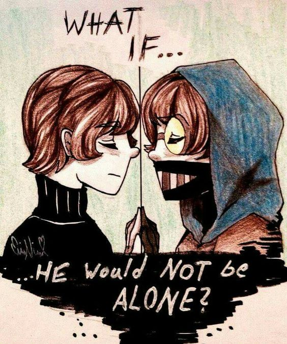 Ticci Toby // What If... He would not be alone?