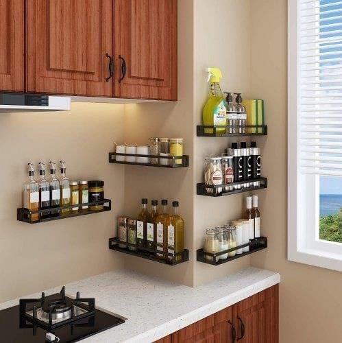 Pin By Yoon Shin Hwa On Cabinet And Interior In 2020 Kitchen Furniture Design Kitchen Wall Storage Kitchen Spice Racks
