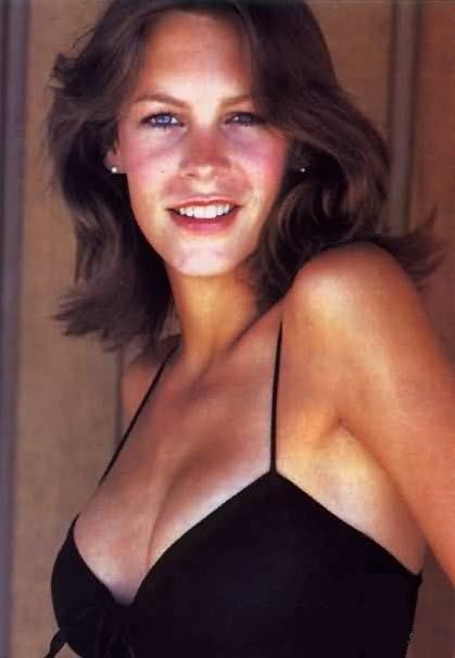 A very young Jamie Lee Curtis