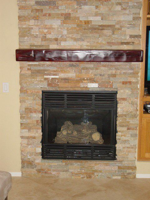 stone tile fireplace stacked stone fireplace fireplace ideas pinterest fireplaces stone. Black Bedroom Furniture Sets. Home Design Ideas