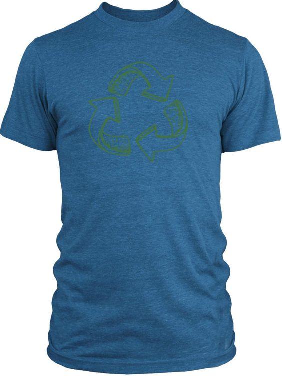 Big Texas Recycle (Green) Vintage Tri-Blend T-Shirt