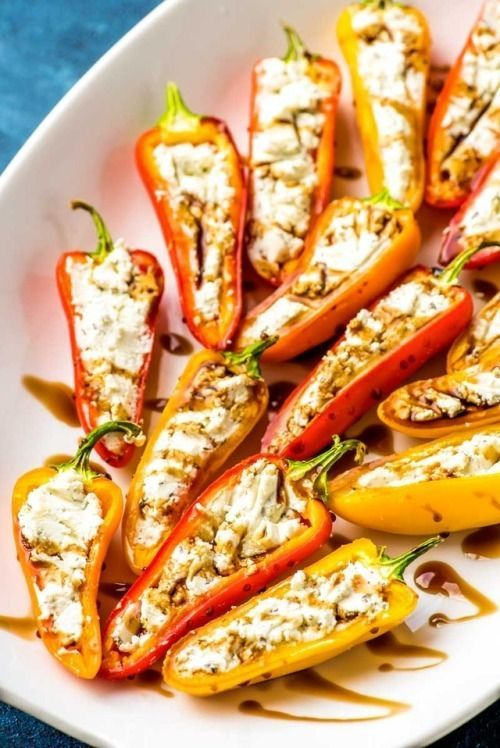 Goat Cheese Stuffed Mini Peppers Tender Sweet Mini Peppers Hashtag Stuffed Mini Peppers Stuffed Peppers Mini Peppers Recipes