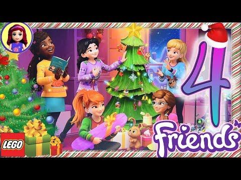 Lego Friends For Girls Youtube Christmas Advent Calendar Diy Christmas Tree Advent Calendar Lego Christmas Ornaments