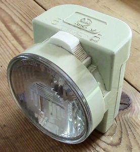 Vintage Berec Front Bike Light - Made In England