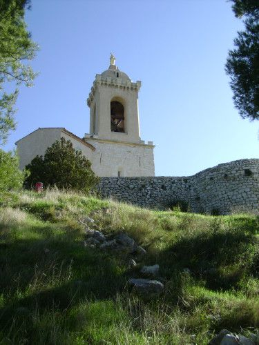 chapelle Notre-Dame-du-Château, Allauch-en-Provence, Bouches-du-Rhône: