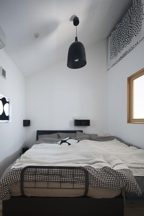 朝の目覚めが楽しみになるベッドルーム