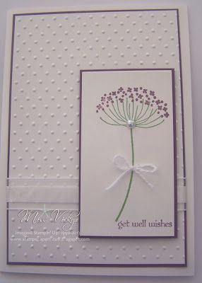 "Stamp Set - Summer Silhouettes ""Get Well Wishes"" Stampin Up!®"