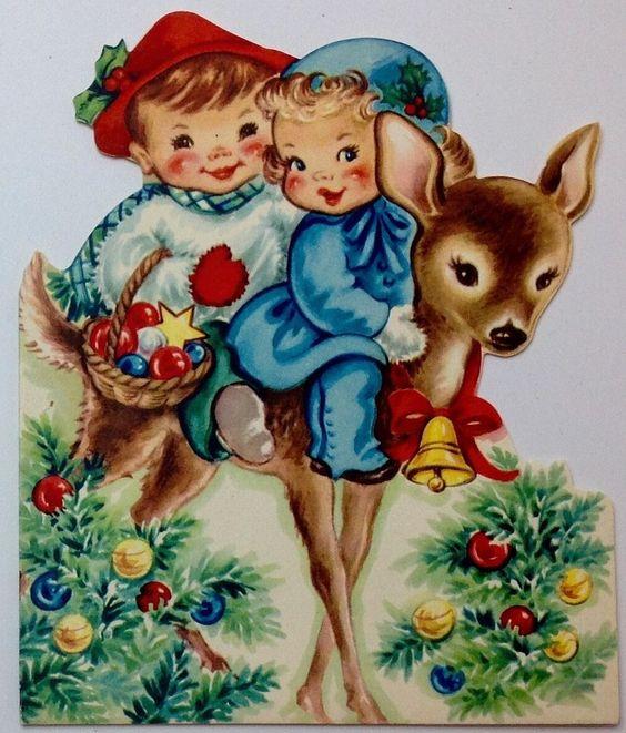 Boys, Deer and Christmas cards on Pinterest