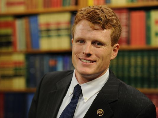 Representative Joseph Kennedy III, Bobby's grandson.:
