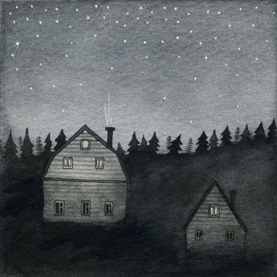 why i adore the night ~ artist Yelena Bryksenkova #journal