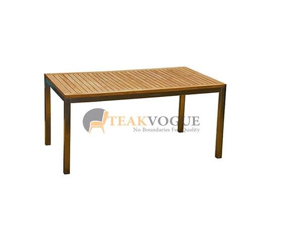 Barra Rectangular Dining Table 210 Teak Outdoor Dining Table Malaysia In 2020 Outdoor Dining Table Poolside Furniture Table