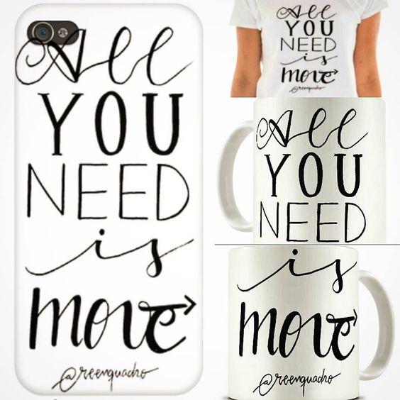 E tem arte nova @reenquadro lá na @toutsbrasil!! Capinha de celular camisa almofada caneca quadro com entrega em todo o território nacional! All you need is move! . Mexa-se! Compre pelo link: http://ift.tt/2d3ZtcO