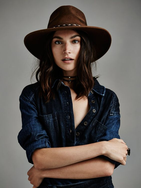 What to Wear on a Safari: Roxy Dene Distressed Felt Hat: For sun-protection, reach for this wool hat with distressed detailing and a horsehair braid.