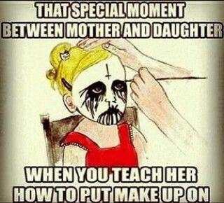 make up black metal