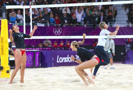 Misty And Kerri Still Haven T Lost A Set In The Olympics Olympic Volleyball Summer Olympics Sports Misty May Treanor