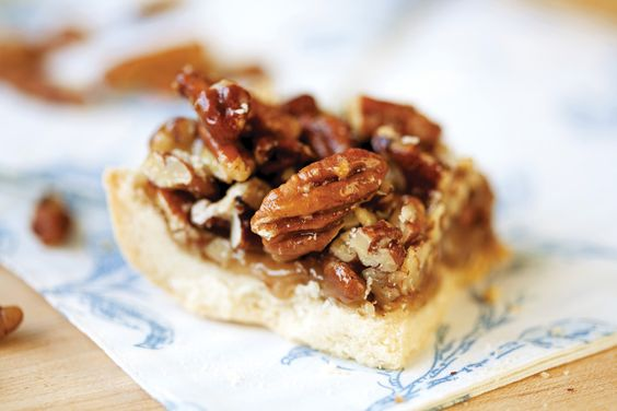Shortbread Pecan Squares | Recipe | Pecans, Squares and Recipe