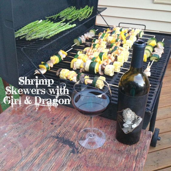 Girl and Dragon and Cooking with Fire