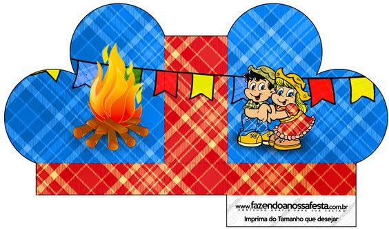 Caixa Sabonete Festa Junina::