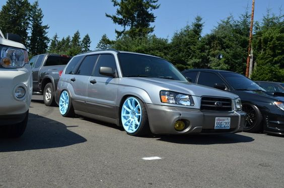 forester+wagon+slammed | How come you don't see too many slammed Foresters? - Page 2