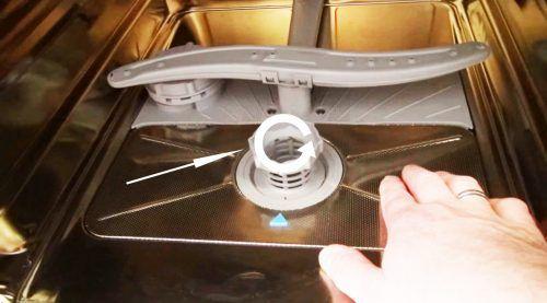 Unscrew The Filter Bosch Dishwasher Bosch Dishwashers Dishwasher Bosch