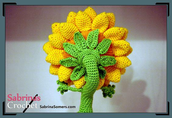 Sunflowers Amigurumi Crochet Pattern Plant : Sunflower - Plants vs Zombies: Garden Warfare - Free ...