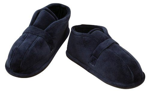 Hard Sole Edema Slippers by EasyComforts - http://shoes.goshopinterest.com/mens/slippers-mens/hard-sole-edema-slippers-by-easycomforts/