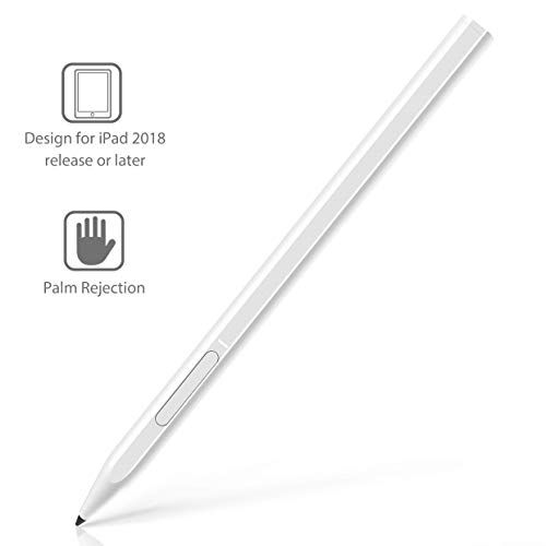 Stylus Pen For Apple Ipad With Palm Rejection Rechargeable Uogic Stylus For Apple Ipad 10 2 Inch Ipad Pro 2018 11 12 9 Inch In 2020 Stylus Pen Apple Ipad Stylus