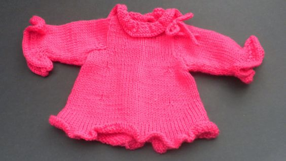 American Girl Doll Long Tunic Sweater and von StitchesbyMarlene