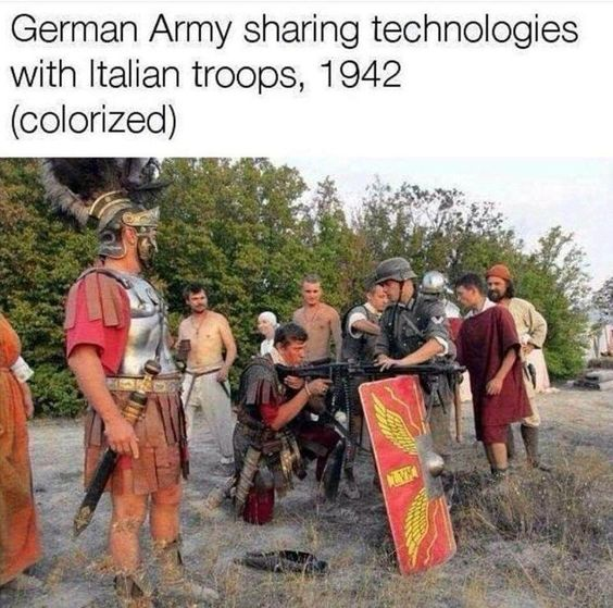 Imagine if the romans had CV-33's in, like, 177