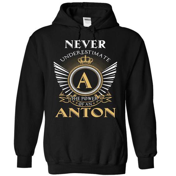 (Tshirt Amazing Gift) 2 Never ANTON Shirts 2016 Hoodies Tees Shirts