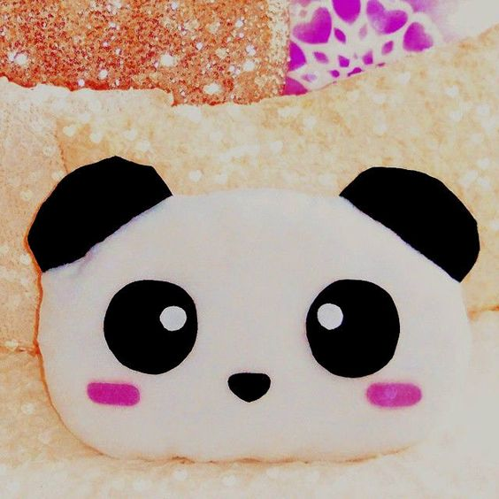 Cute Panda Pillow : Diy Panda Pillow Share Your Craft Pinterest Videos, Pillows and Stars