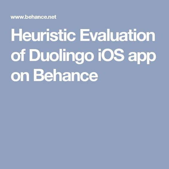 What is a Heuristic Evaluation in UX? The UX Blog podcast is also - definition evaluation