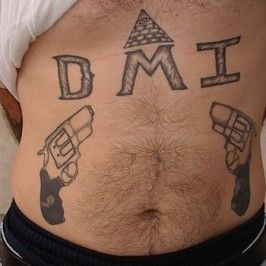 111 Scandalous Prison Tattoos And Their Meanings - Watch at your own risk nice  Check more at https://tattoorevolution.com/gangster-prison-tattoos-meanings/