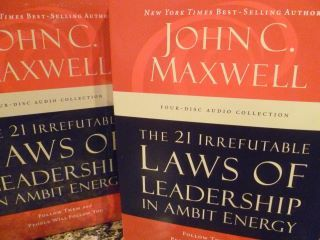 John Maxwell is a Champion of Ambit Energy!!  I learned a lot from these CD's and the interviews he did w/ our leaders! Awesome!
