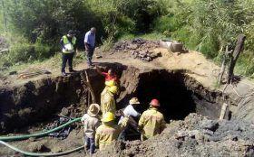 Rescatan cuerpo de hombre que fue sepultado por un alud