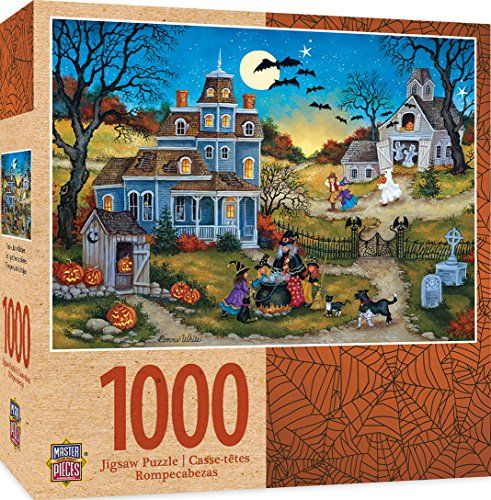 Masterpieces Seasonal Three Little Witches Halloween Jigs Https Www Amazon Com Dp B07cps3w5j Ref Cm S Halloween Jigsaw Puzzles Jigsaw Puzzles Featured Art