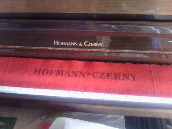 Pianoforte verticale Hofmann & Czerny perfetto