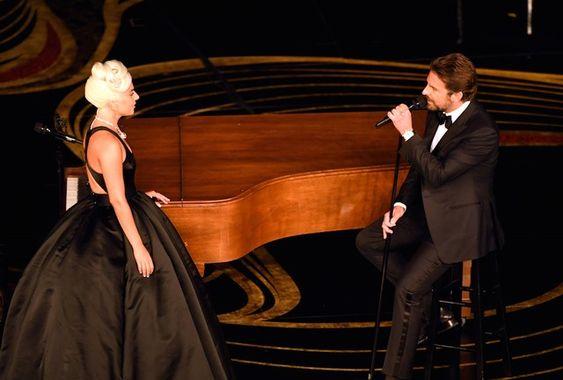 Lady Gaga at Oscars 2019 alongside actor-turned-director Bradley Cooper