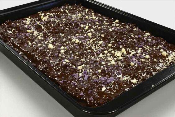 Chokolade Og Marcipankage Opskrift Chokolade Opskrifter Og Mad Ideer