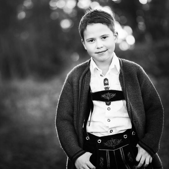 Child Portrait  Kommunion