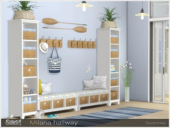 Hallway Decorating, Marine Style Furniture
