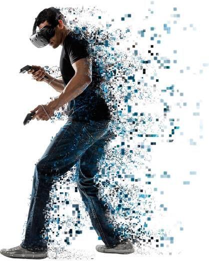 VRをつけて戦っている?画像