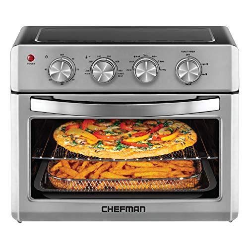 Chefman Air Fryer Toaster Oven 6 Slice 25 Liter Convection