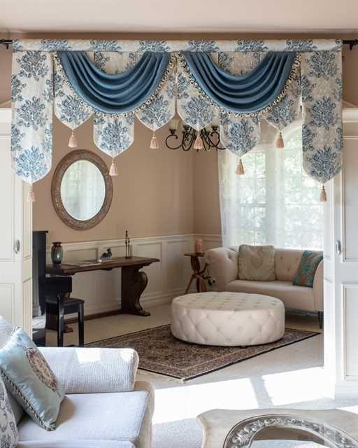 Luxury Custom Curtains Swag Valances Unique Styles Custom Made Superior Quality Celuce Com In 2020 Living Room Decor Curtains Elegant Curtains Home Curtains #swag #valance #for #living #room