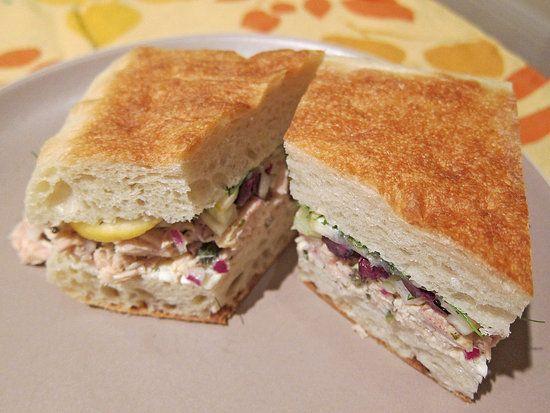 'Wichcraft Tuna Sandwich With Fennel and Lemon Recipe   POPSUGAR Food