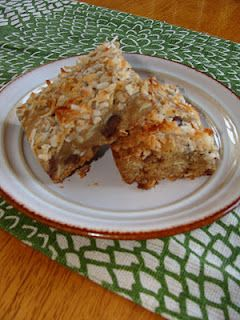 Just Cooking: Almond Joy Cookie Bars Recipe.