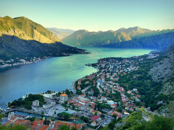 Bay of Kotor Sunrise, Montenegro