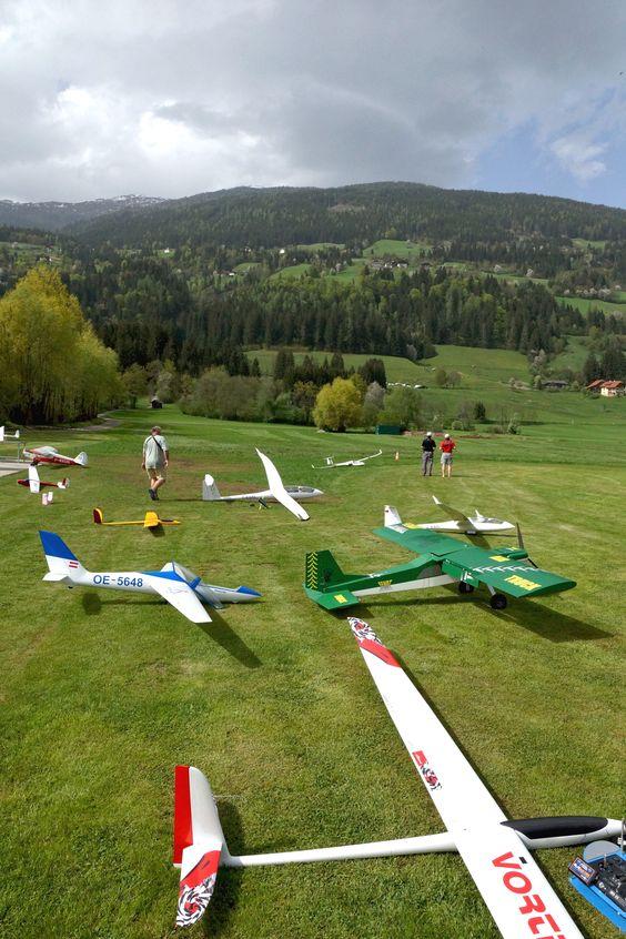 #Segler-Schlepp #Modellflug #Modellflugschule #glocknerhof www.glocknerhof.at