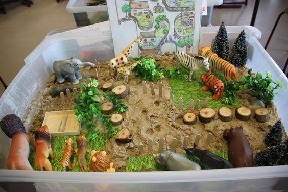 Zand en zo! in de dierentuin. Voor suggesties  zie de nieuwsbrief van Het Jonge Kind van IJsselgroep ED