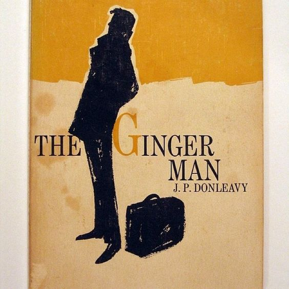 #NBAward Finalist The Ginger Man. Donleavey's cult novel of the misadventures of an American ne'er-do-well studying at Trinity College in DUBLIN, IRELAND was originally banned in the United States